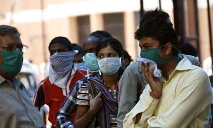 four of a family members hospitalized for swine flu