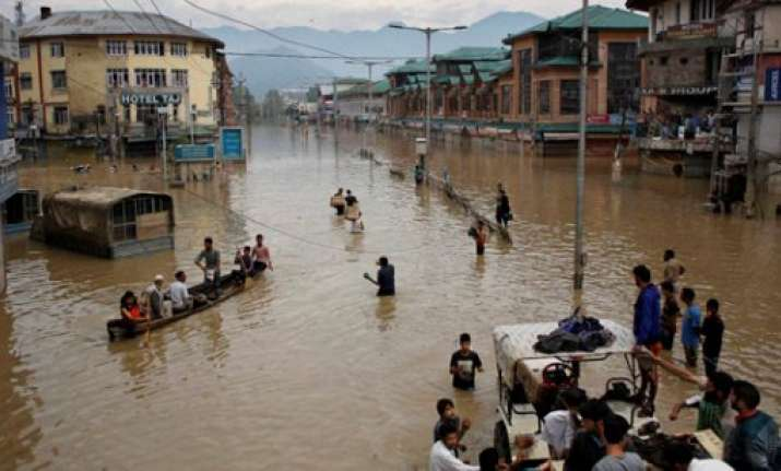 residents in flood hit zone asked to guard against house