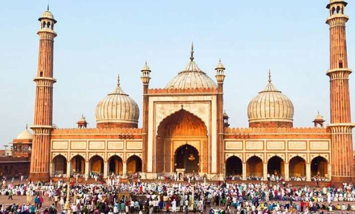 india celebrates eid with fervor gaiety