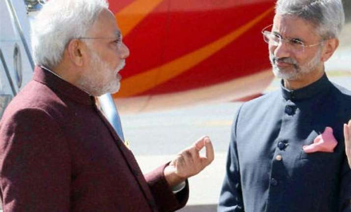 modi tightens grips over foreign affairs congress cries