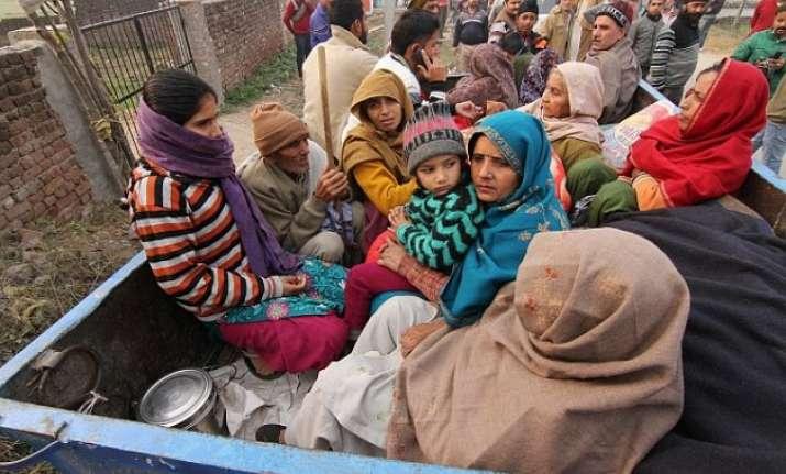 fear returns to haunt border villagers as pakistan firing