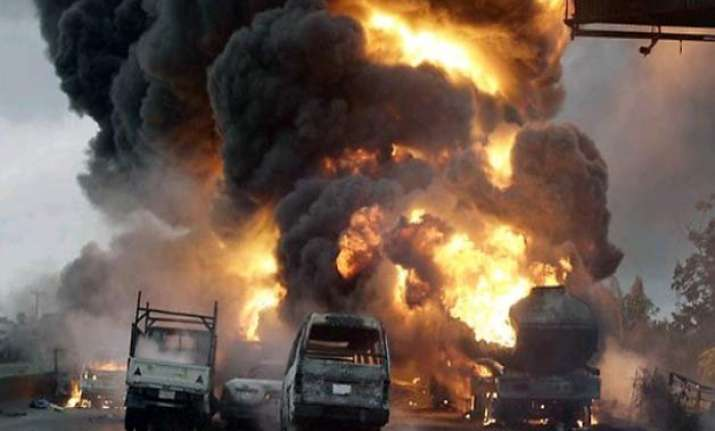 2 youths killed in gas tanker blast