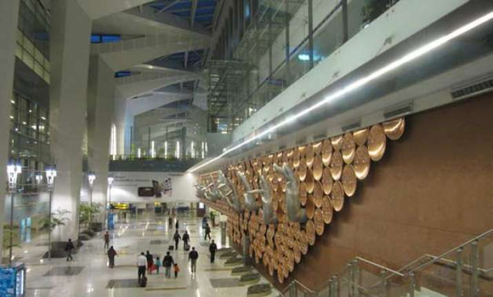 7 held at indira gandhi international airport with 182