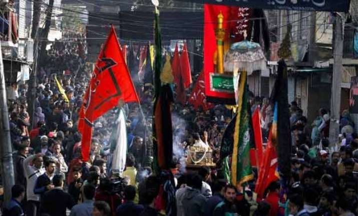 muharram observed 3 hurt in bihar curfew in gwalior area