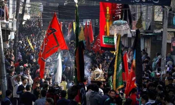 muharram observed 3 hurt in bihar curfew in gwalior area