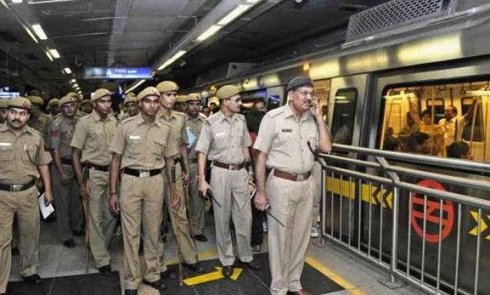 terror threat to delhi metro cisf identifies 160 gaps after