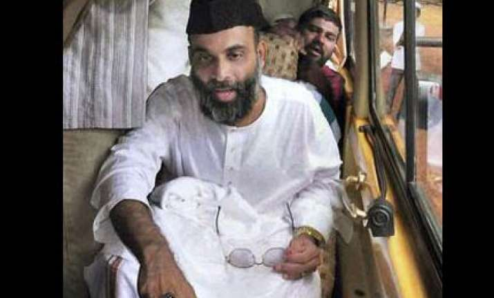 madani s role in bangalore blasts not proven says police