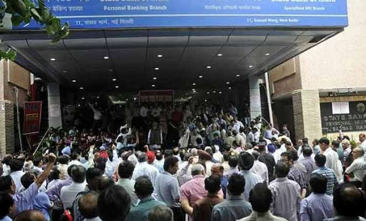 psu bank employee unions withdraw strike call settle wages