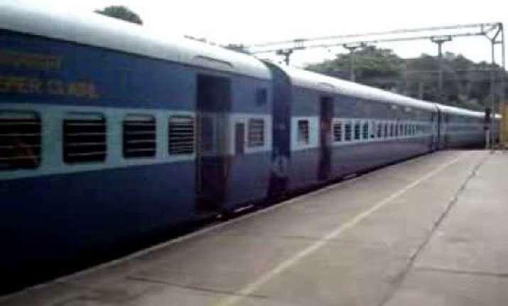 train bogie derails two hurt