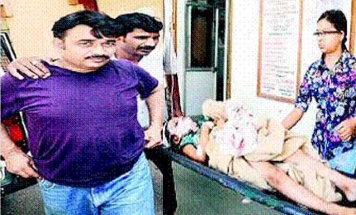 retired navy man in thane kills wife daughter with a