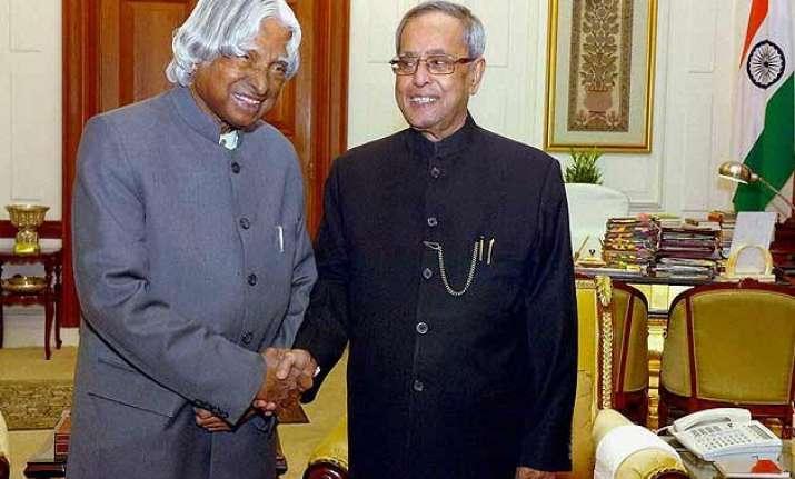 a p j abdul kalam was people s president pranab mukherjee