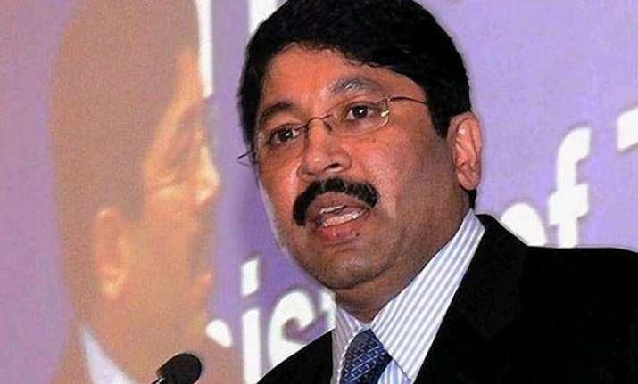 ed acting as puppet at the behest of someone dayanidhi maran