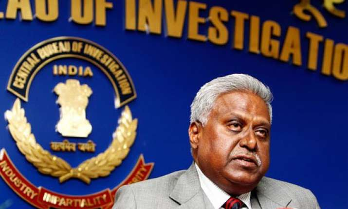 2g scam cbi chief defends filing of separate counter