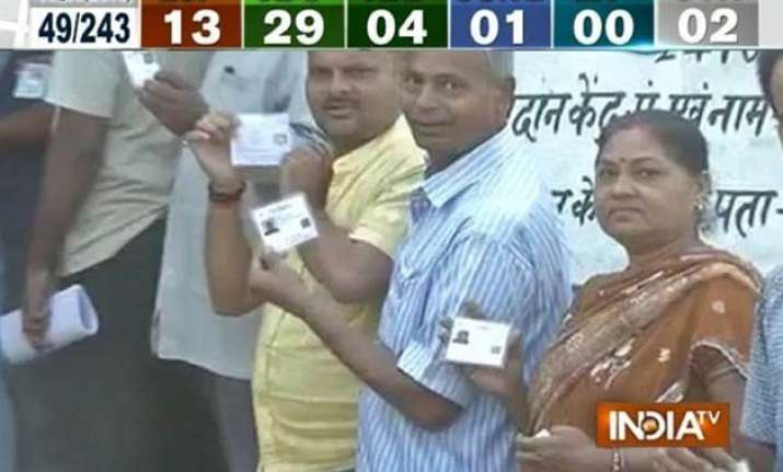 bihar polls 13 per cent turnout recorded in first 2 hours