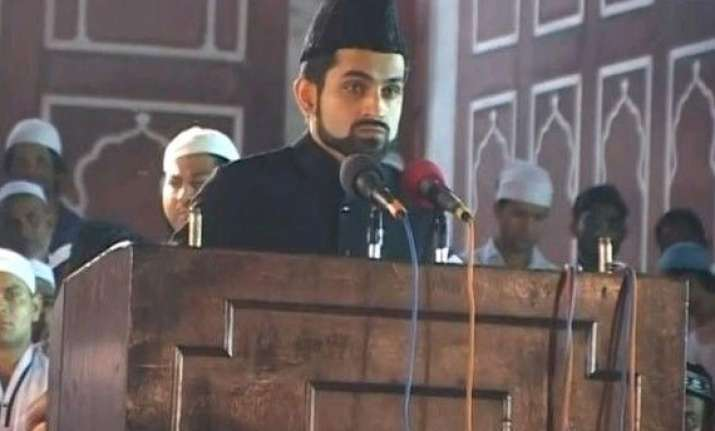 jama masjid s new naib imam hates communal politics