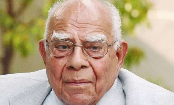 ram jethmalani flays govt for its action on separatists
