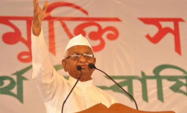 anna hazare wants agriculture commissions to look into