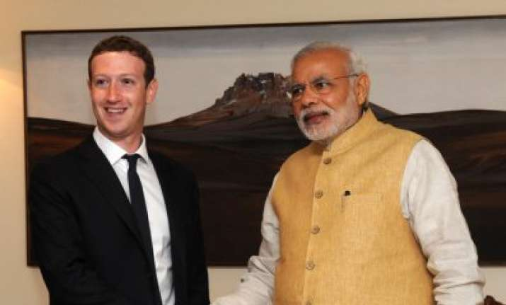 narendra modi tells mark zuckerberg think how social media