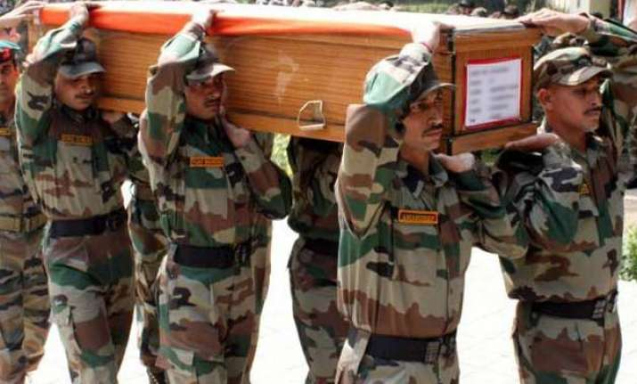army officer dies day after getting gallantry award