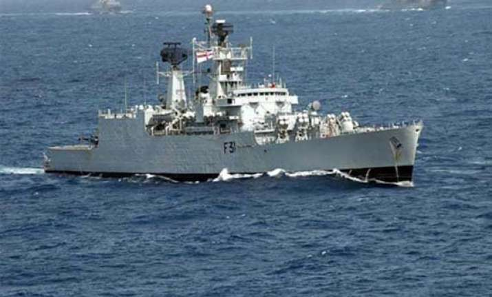 three indian warships reach reunion island