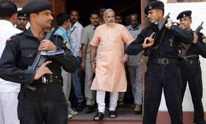 congress has given my supari to cbi says modi