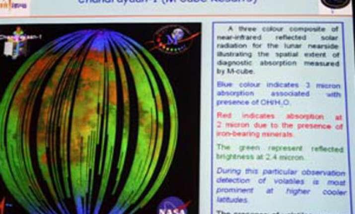 chandrayaan i detects ice deposits on moon