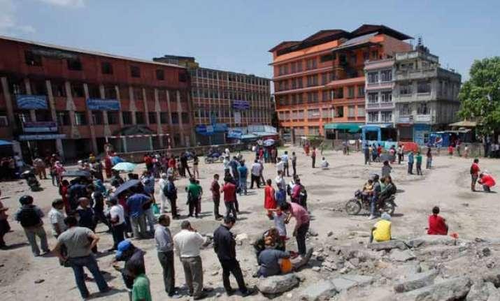 7 quakes jolt nepal 50 dead over 1100 injured