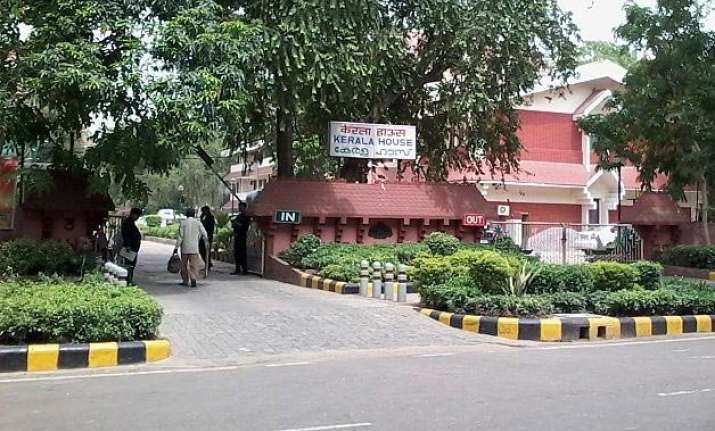 cops rush to kerala bhawan after call alleging beef on menu