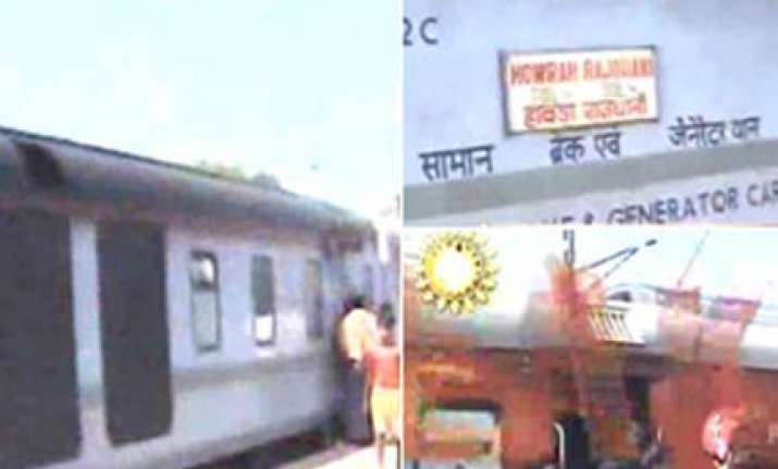 rajdhani engine derails near kolkata question mark on