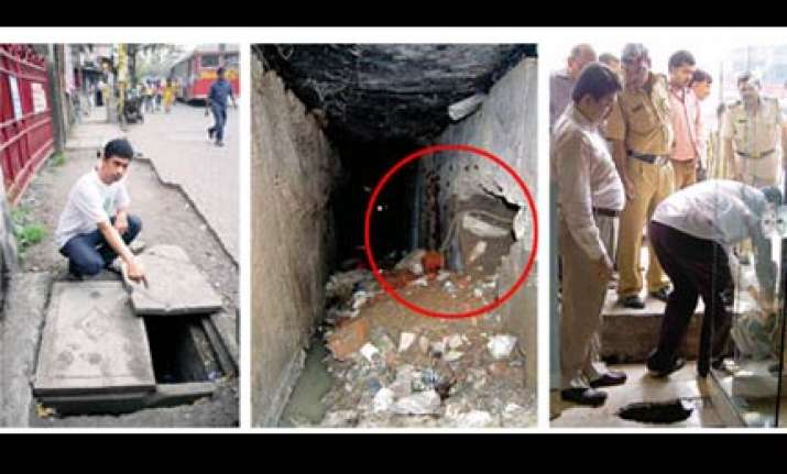 mumbai thieves dig tunnel to rob jewellery shop