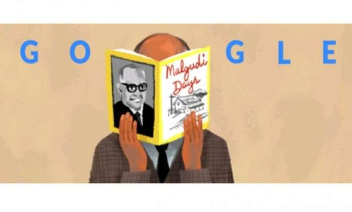 google doodle remembers r.k. narayan creator of malgudi days