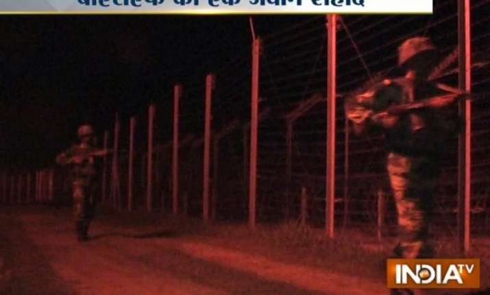 pakistan violates ceasefire in j k one bsf jawan killed
