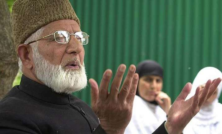 government issues passport to syed ali shah geelani