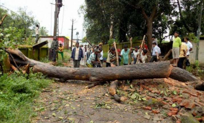 cyclone hit vizag limping back to normalcy
