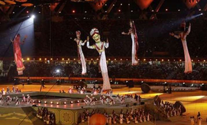 child prodigy s tabla performance at cwg opening
