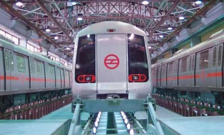 delhi metro services to be curtailed at two stations