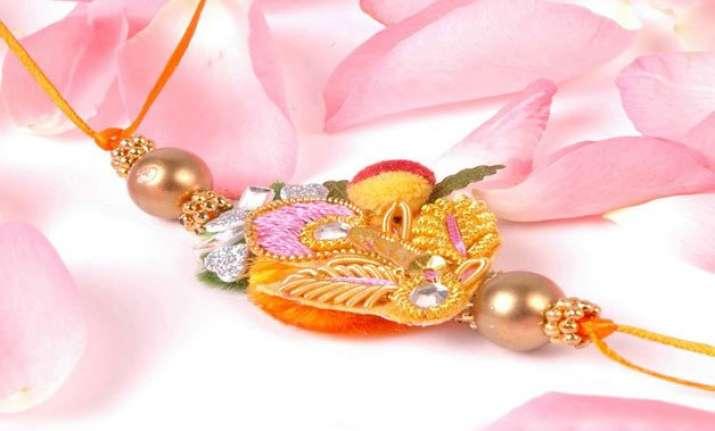 for rakshabandhan either create a rakhi or buy exotic