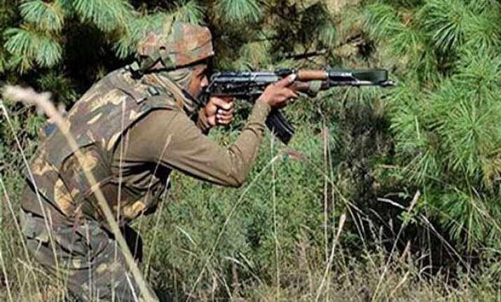 pakistan targets 6 border outposts fired mortar shells