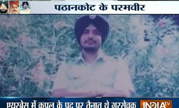 proud that my son died for the country says martyred