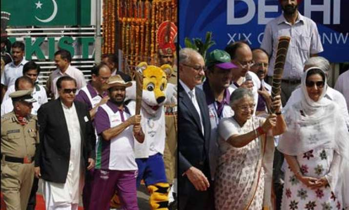 commonwealth games relay baton arrives in india