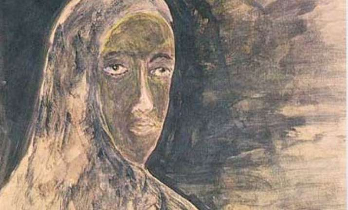 12 tagore paintings sold off at london auction