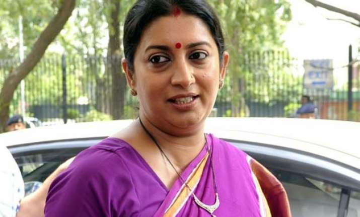 after smriti irani s fir fabindia says cameras installed in