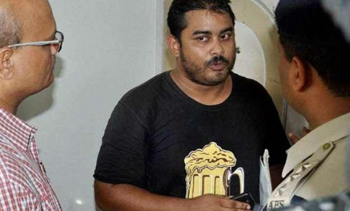 sheena murder case brother mikhail leaves for mumbai