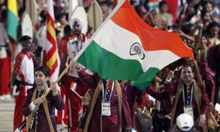 bindra fourth indian shooter to carry tri colour