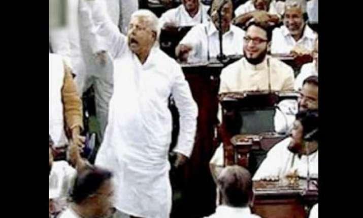 lalu maange more stalls lok sabha demanding huge salary hike
