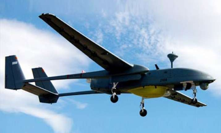 when an air force uav was almost shot down at games opening