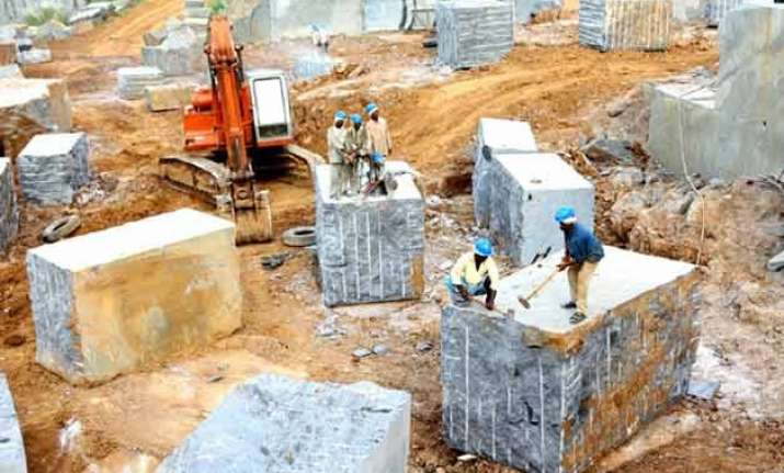 illegal quarrying destroyed over 60 water resources in
