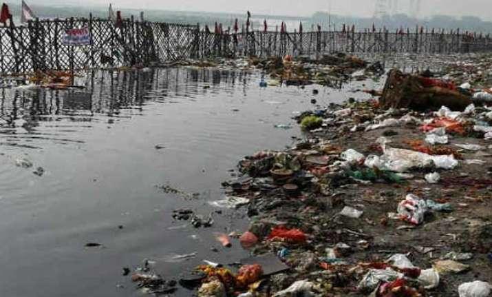 river activists environmentalists walk to save yamuna