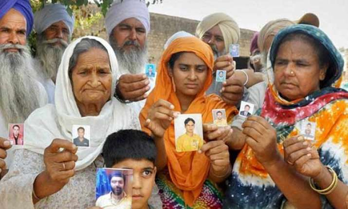 relatives of is captured workers seek answers from govt