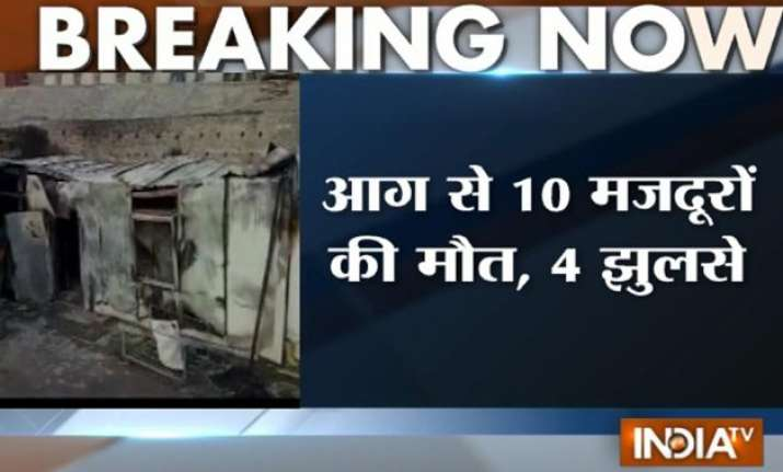 10 people charred to death in ramban in j k